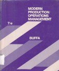 Modern Production/Operations Management