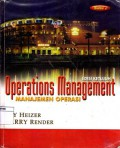 Operations management : Manajemen operasi